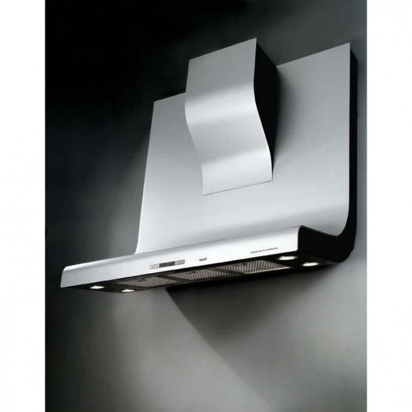 Hotte tiroir 90 cm for Hotte decorative murale 90 cm electrolux efc90400x inox